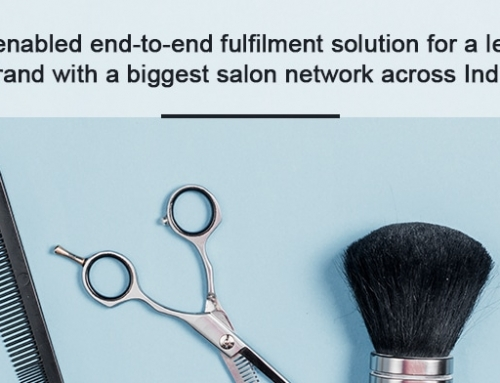 Tech enabled end-to-end fulfilment solution for a leading brand with a biggest salon network across India