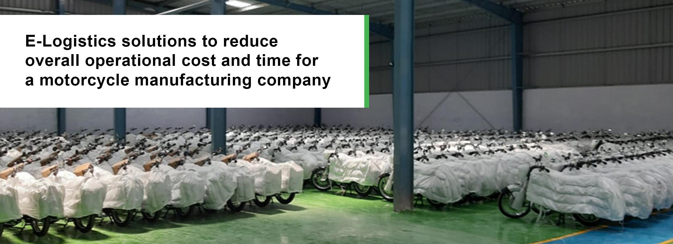 E logistics solutions