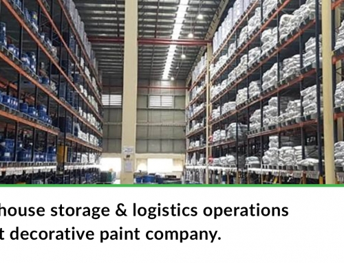 Re-engineered warehouse storage & logistics operations for one of the largest decorative paint company