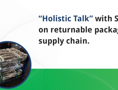 Holistic talk with Shalin Sharma on returnable packaging in supply chain