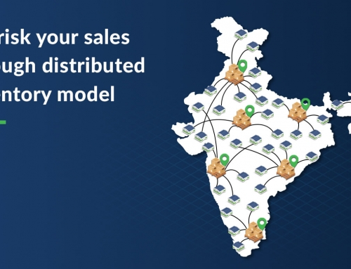 De-risk your sales through distributed inventory model