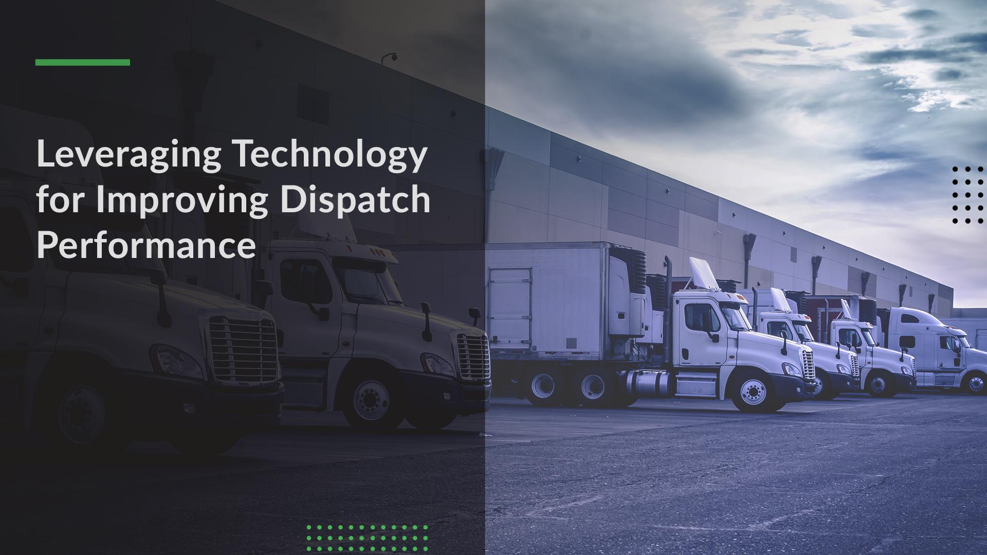 Dispatch Planning