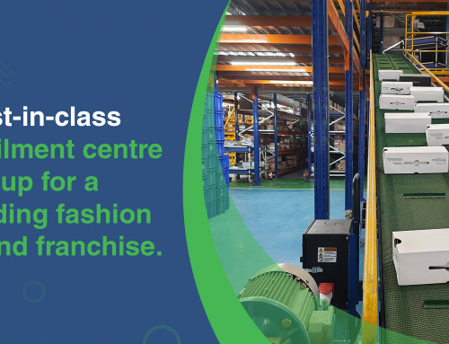 Best-in-class fulfilment centre set up for a leading fashion brand franchise