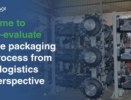 Time to re-evaluate the packaging process from a logistics perspective